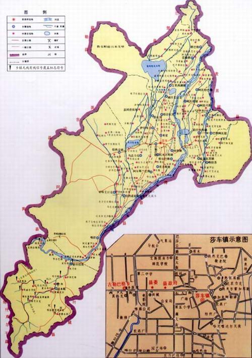 莎车县位于新疆维吾尔自治区西南部,喀什地区南部,塔里木盆地西部,喀图片