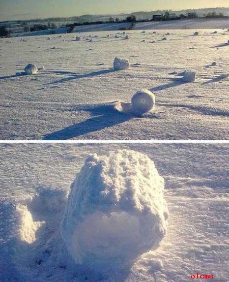 气候决议了积雪的构造和稠密度