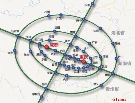发改委审批经度过成渝经济区区域规划